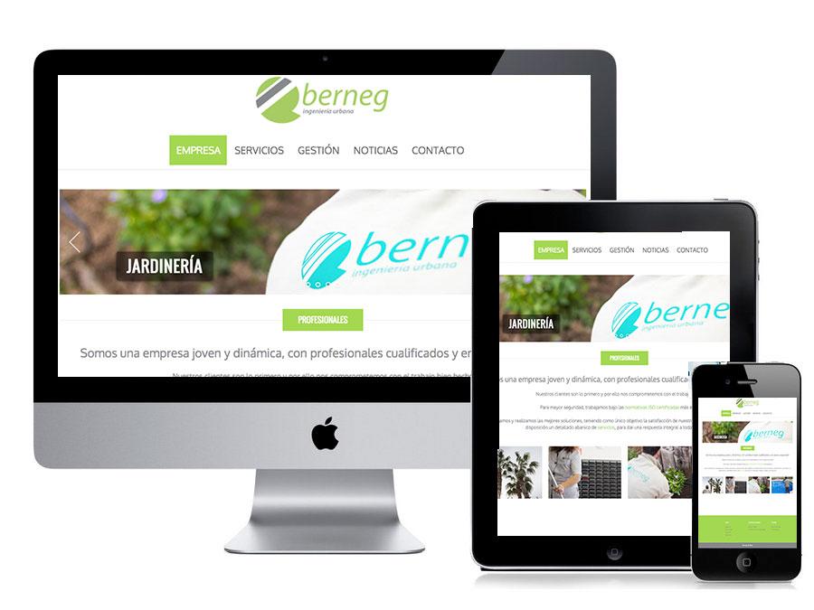 estreno web Berneg